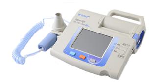 呼吸機能検査(フクダ電子製)